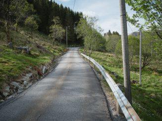 rural tarmac road